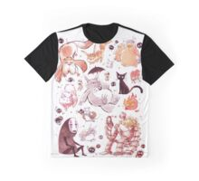 Ghibli Creatures Graphic T-Shirt