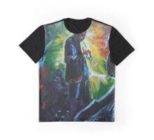Miles Davis Color Explosion Graphic T-Shirt