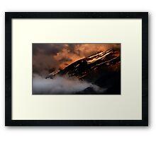 Evening Light... Framed Print