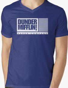 Dunder Mifflin Inc Mens V-Neck T-Shirt