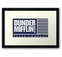 Dunder Mifflin Inc Framed Print