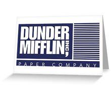 Dunder Mifflin Inc Greeting Card