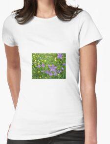 Wildflower Garden Womens Fitted T-Shirt
