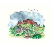 Hammershus Art Print