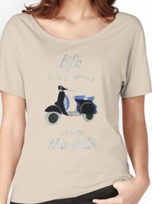 vespa is my life Women's Relaxed Fit T-Shirt