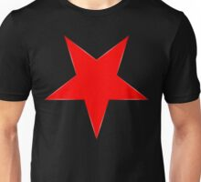 Inverted Red Star Unisex T-Shirt