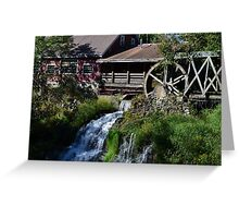 Clifton Mill, Ohio Greeting Card