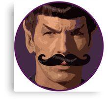Spock Mustache Canvas Print