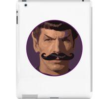Spock Mustache iPad Case/Skin