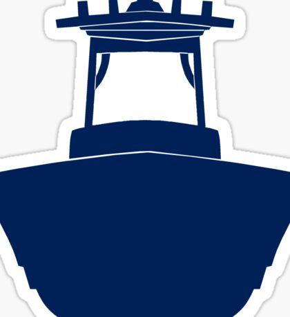 Center Console Boat Sticker