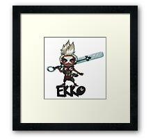 Ekko Framed Print
