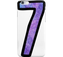 Number 7 iPhone Case/Skin