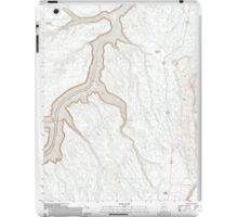 USGS TOPO Map Arizona AZ Bitter Springs 20111027 TM iPad Case/Skin