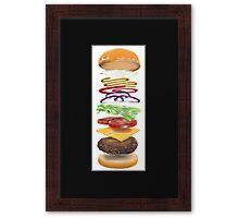 Cheeseburger Cheeseburger Cheeseburger Framed Print