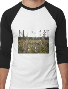 Wild Heather Men's Baseball ¾ T-Shirt