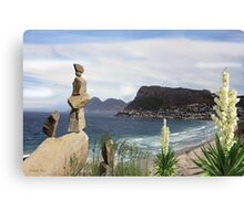 Its all about Balance - View of Simons Town Canvas Print