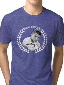 Gonzalez Chocolatito Boxing Tri-blend T-Shirt