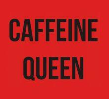 Caffeine Queen  One Piece - Short Sleeve