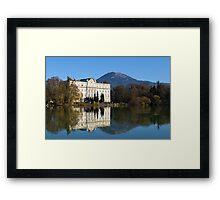 A Sunny Day in Salzburg Framed Print