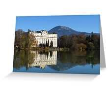 A Sunny Day in Salzburg Greeting Card