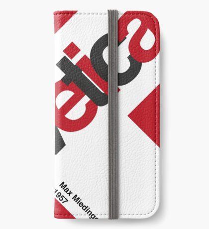 Helvetica iPhone Wallet/Case/Skin