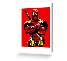 Dead-Pool Greeting Card