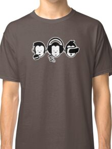 Three Hipster Apes v2 Classic T-Shirt