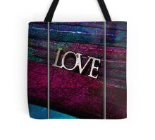 Love Textures Tote Bag