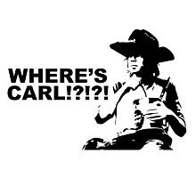Where's Carl? Photographic Print