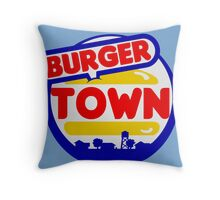 Burger Town (MW2/MW3) Throw Pillow