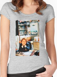 DANA SCULLY x files Women's Fitted Scoop T-Shirt