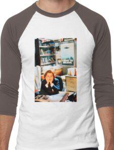 DANA SCULLY x files Men's Baseball ¾ T-Shirt