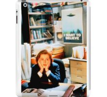 DANA SCULLY x files iPad Case/Skin