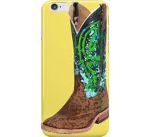 This Boot Was Made For Walkin' iPhone Case/Skin