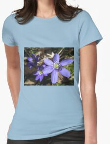 Wild and Blue Womens Fitted T-Shirt