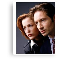 The X Files - #1 Canvas Print