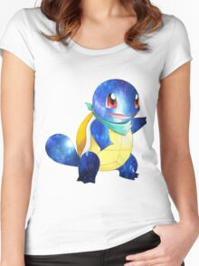 Squirtle edit Women's Fitted Scoop T-Shirt