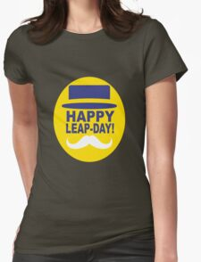 HAPPY LEAP-DAY! Womens Fitted T-Shirt