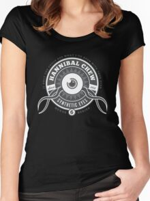 Hannibal Chew Synthetic Eyes Women's Fitted Scoop T-Shirt