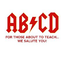 ABCD Photographic Print