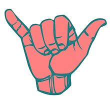 Hang Loose Hand by rbx11