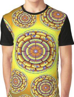 ABSTRACT PETALS-333 Graphic T-Shirt
