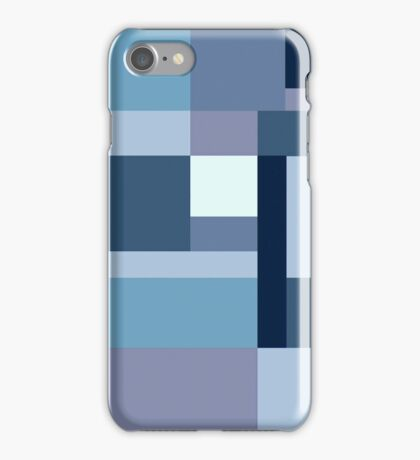 Abstract #387 Blue Harmony iPhone Case/Skin