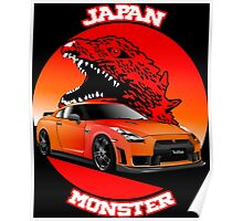 Nissan GT-R R35 Poster