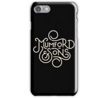 mumford & son iPhone Case/Skin