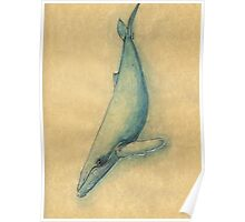 Humpback Whale of the Deep Poster