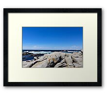 Nova Scotia Ocean Beach Framed Print