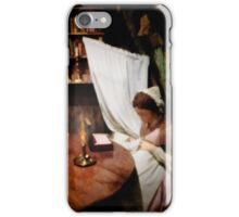 Working by Candlelight  iPhone Case/Skin