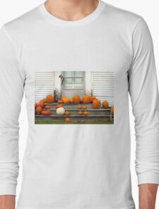Pumpkin Harvest Long Sleeve T-Shirt
