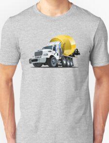 Cartoon Mixer Truck Unisex T-Shirt